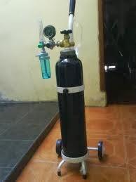 jual tabung oksigen 1 kubik murah di malang surabaya isi ulang oxygen medis di malang Harga Tabung Oksigen Di Malang Lengkap Dengan Regulator Dan Trolly