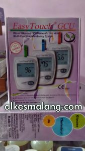 Easy Touch Meter Untuk Cek Gula + Asam Urat + Kolesterol Jual Easy Touch di Malang