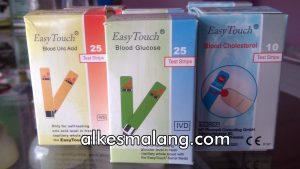 Harga Strip Easy Touch Untuk Cek Gula Darah Kolesterol Asam Urat Malang